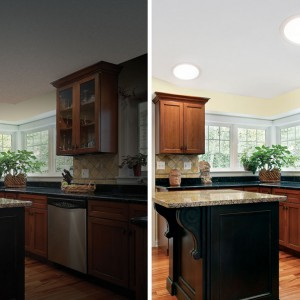 Save power costs with a brighter kitchen.