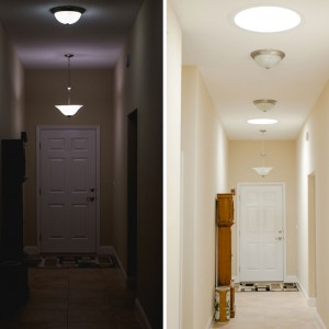 Navigate your hallway without turning on lights.