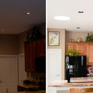 Convenience in your kitchen means not turning on the lights.