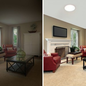 Lighting your living area with skylights is a brilliant idea!