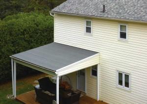 Flintlastic SA residential flat roof installation