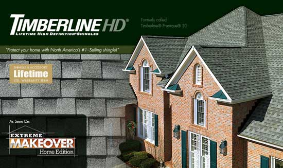 GAF Timberline HD shingles gallery