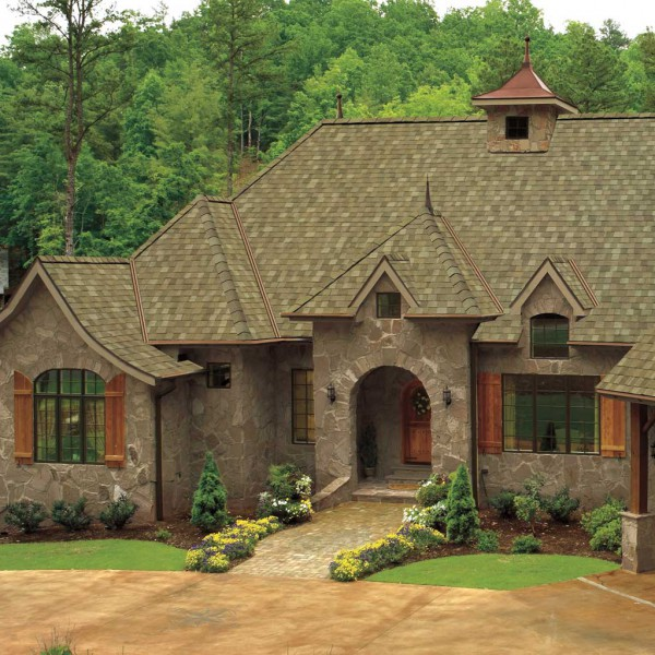 "A beautiful and durable roof – featuring the GAF Timberline American Harvest ""Cedar Falls"""