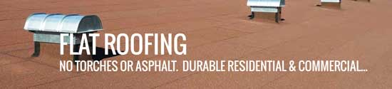 Flat roofing by Flintlastic for Chuluota residential and commercial structures