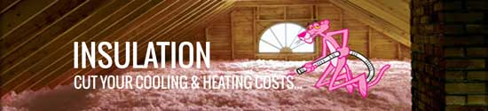 Insulation cuts your cooling and heating costs
