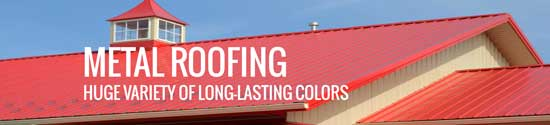 Metal roofing by Gulf Coast