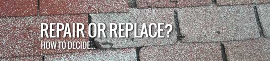 Should I repair or replace my shingle roof in Deltona?