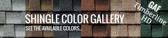 GAF Timberline HD shingle colors for your Deltona home