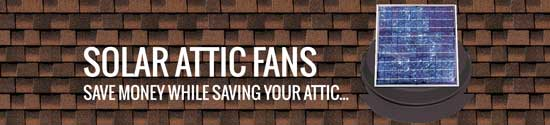 Solar attic fans for Chuluota